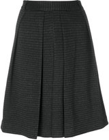 Steffen Schraut classic pleated skirt - women - Cotton/Polyester/Spandex/Elastane/Metallic Fibre - 36