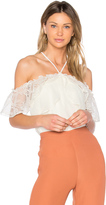 Aijek Andrea Cold Shoulder Top