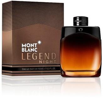 Montblanc Legend Night / Mont Blanc EDP Spray 3.3 oz (100 ml) (m)