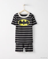 Hanna Andersson Justice League BATMANTM Short John Pajamas In Organic Cotton