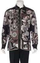 Versace Silk Printed Shirt