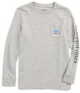 Vineyard Vines Boy's Americana Game Day Pocket T-Shirt