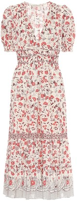 Ulla Johnson Zaria floral cotton midi dress