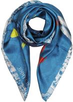 Jimmy Choo Shoes and Signature Printed Silk Square Scarf