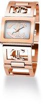 Just Cavalli Women's R7253330645 Squared Quartz White Dial Watch