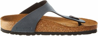 Birkenstock Gizeh Birko-flor Nubuck Womens Sandals