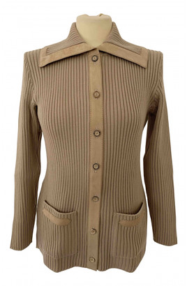 Hermes Beige Wool Knitwear