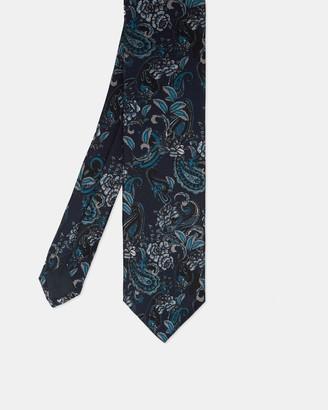 Ted Baker Paisley Print Silk Tie