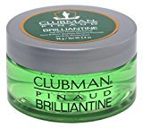 Clubman Brilliantine 3.4 Ounce Jar (100ml) (6 Pack)