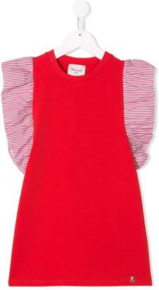 Mariuccia Milano Kids striped sleeve T-shirt dress