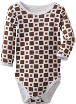 L'ovedbaby Unisex-Baby Infant Long Sleeve Bodysuit, Brown, 9/12 Months