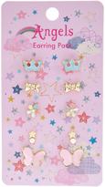 Accessorize 5x Felicity Fairy Stud Earrings Set