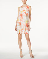 Calvin Klein Pleated Shift Dress