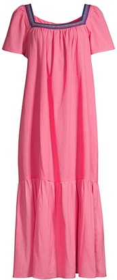 Pitusa Ruffle Maxi Dress