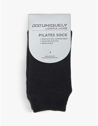 Lorna Jane Pilates stretch-jersey socks
