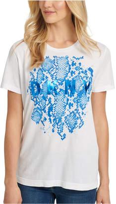 DKNY Python Logo T-Shirt