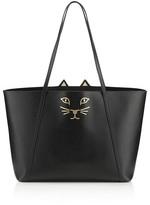 Charlotte Olympia Feline Leather Tote