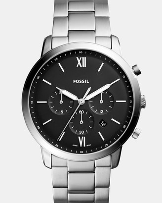 Fossil Neutra Silver-Tone Chronograph Watch