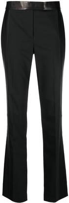 Helmut Lang Bi-Material Tailored Trousers