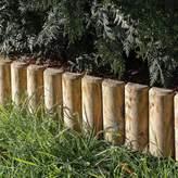 Grange Fencing Pack of 4 Green Log Edging Board