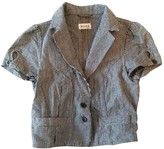 Urban Outfitters Blue Cotton Jacket for Women
