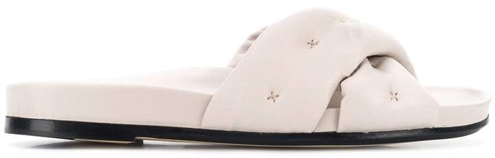 Anya Hindmarch Chubby crossover slides