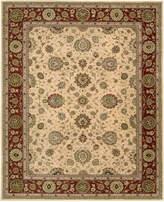 "Nourison Wool & Silk 2000 2204 Ivory 9'9"" x 13'9"" Area Rug"