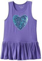 Toddler Girl Design 365 Sequin Heart Tunic