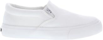 Lamo Sneakers White - White Lucy Slip-On Sneaker - Kids
