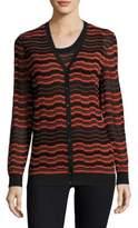 M Missoni Brick Striped Cardigan