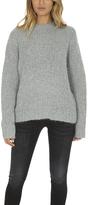 R 13 Boucle Crewneck Sweater