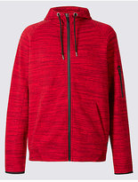 M&S Collection Active Jersey Hooded Sweatshirt