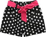 Richie House Girls' Sweet Polka Dot Shorts with Belt Size 2-8Y