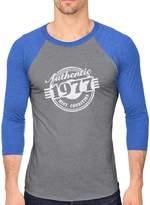TeeStars 40th Birthday Gift - 1977 Mint Codition 3/4 Sleeve Baseball Jersey Shirt