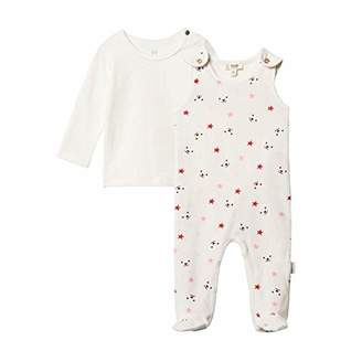 Steiff Baby Set Strampler + Sweatshirt Clothing