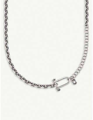 Thomas Sabo Rebel at Heart iconic skull silver necklace