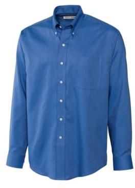 Cutter & Buck Men's Long Sleeve Nailshead Shirt