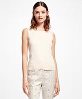 Brooks Brothers Sleeveless Supima® Cotton Shell