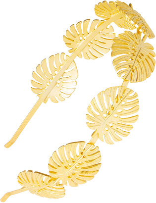 L. Erickson Evelyn Leaf Metal Headband