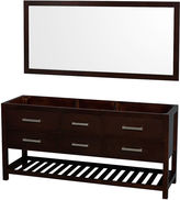 WYNDHAM COLLECTION Wyndham Collection Natalie 72 inch Double BathroomVanity