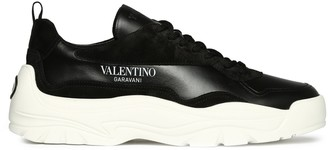 Valentino Logo Chunky Sole Sneakers