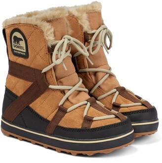 Sorel Explorer suede boots