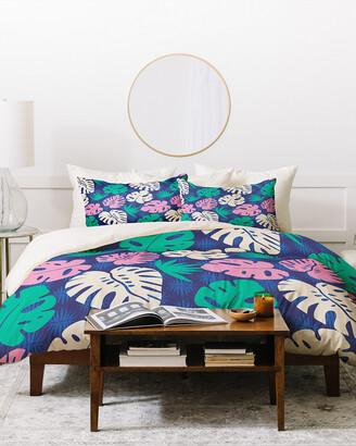 Deny Designs Zoe Wodarz Tropical Nights Duvet Cover Set