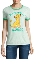 Freeze Short Sleeve Crew Neck The Lion King T-Shirt-Juniors