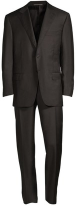 Canali Regular-Fit Two-Button Wool-Blend Suit