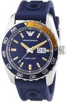 Emporio Armani AR6045 - Men's Wristwatch, silicone, color: