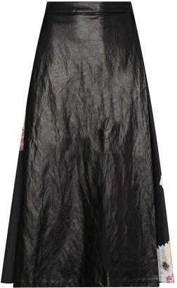 REJINA PYO Belma faux leather midi skirt