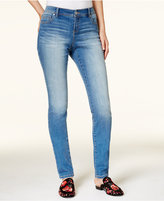 INC International Concepts Petite Medium Wash Skinny Jeans, Created for Macy's