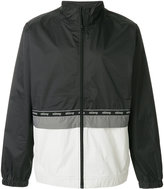 Stussy contrast panel fitted jacket