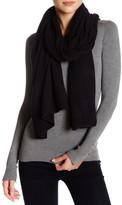 Portolano Black Cashmere Knit Shawl